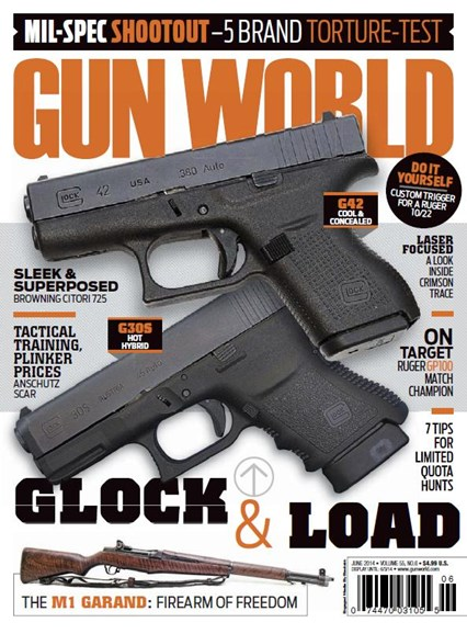 Gun World Cover - 6/1/2014