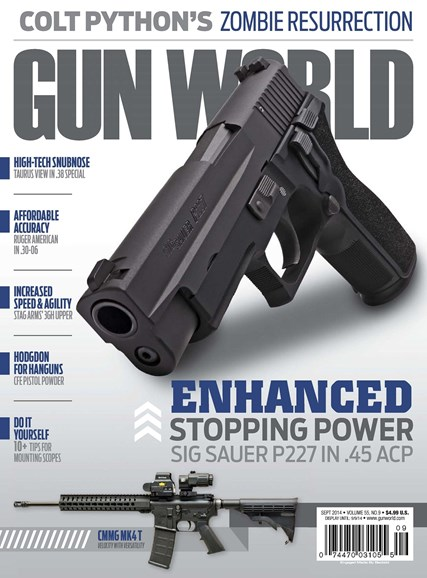 Gun World Cover - 9/1/2014