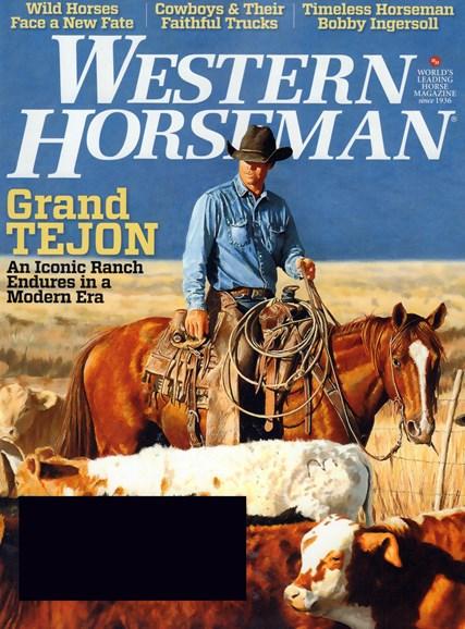Western Horseman Cover - 8/1/2017