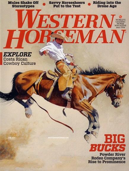 Western Horseman Cover - 6/1/2017