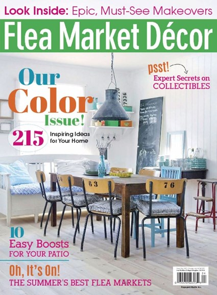 Flea Market Décor Cover - 9/1/2017