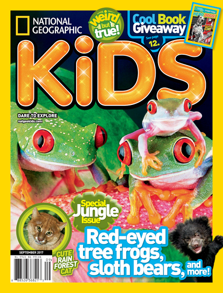 National Geographic Kids Cover - 9/1/2017