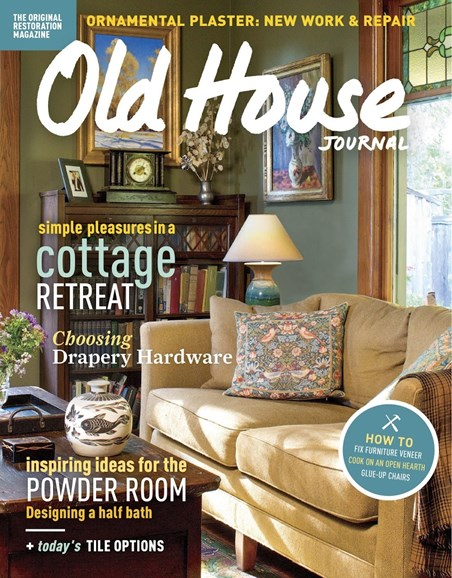 Old House Journal Cover - 9/1/2017