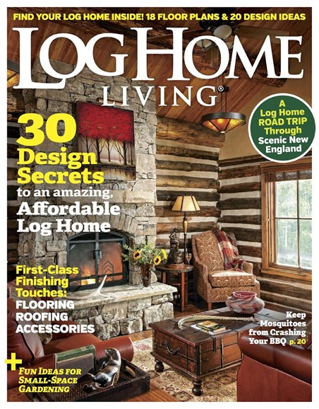 Log Home Living Cover - 8/1/2017