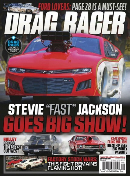 Drag Racer Cover - 9/1/2017