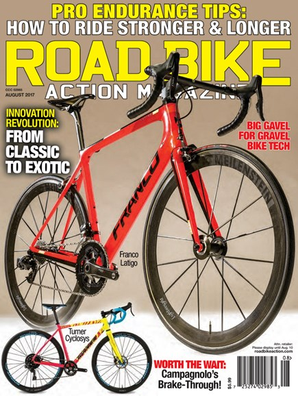 Road Bike Action Cover - 8/1/2017