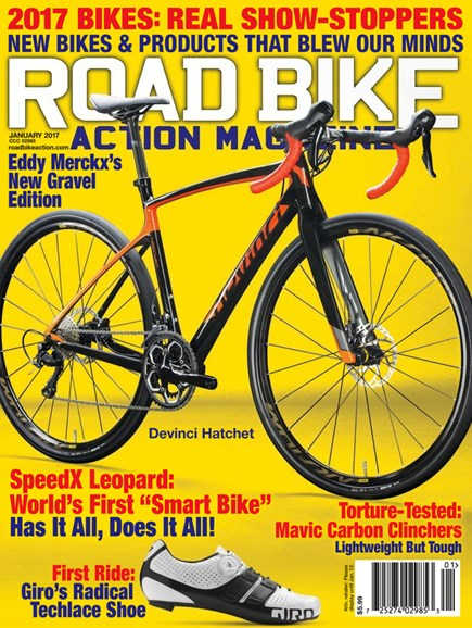 Road Bike Action Cover - 1/1/2017