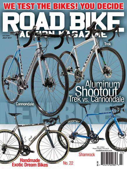 Road Bike Action Cover - 7/1/2017