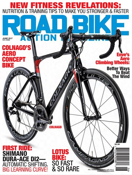 Road Bike Action Cover - 6/1/2017
