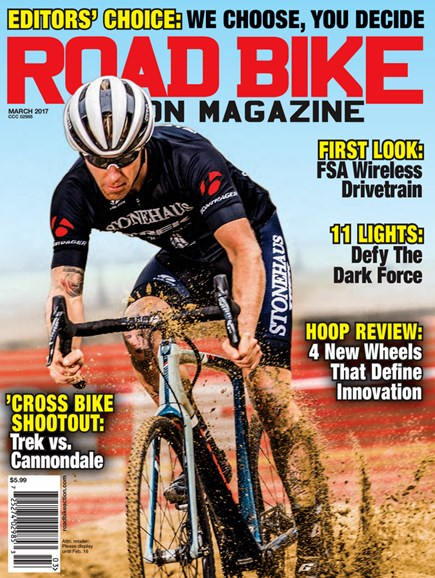 Road Bike Action Cover - 3/1/2017