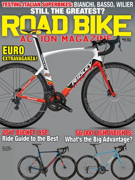 Road Bike Action Cover - 5/1/2017