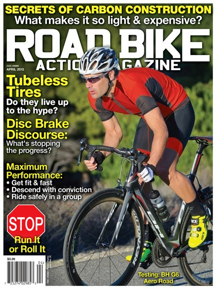 Road Bike Action Cover - 4/1/2013