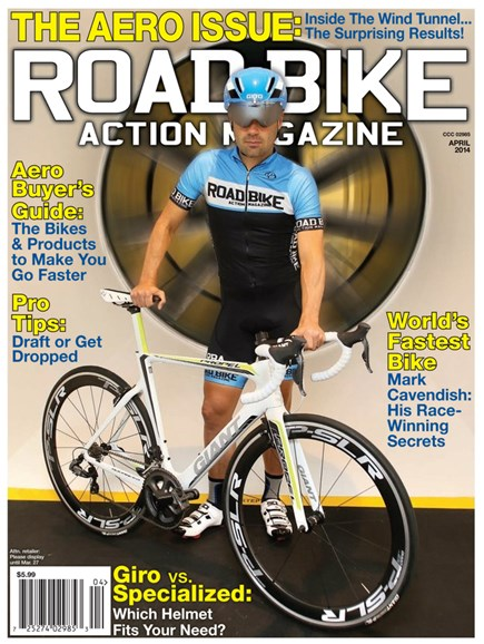 Road Bike Action Cover - 4/1/2014