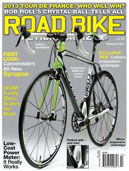 Road Bike Action Cover - 7/1/2013
