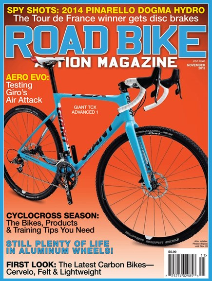 Road Bike Action Cover - 11/1/2013