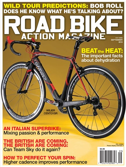 Road Bike Action Cover - 9/1/2013