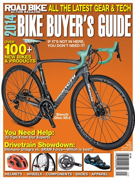Road Bike Action Cover - 2/1/2014