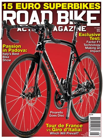Road Bike Action Cover - 5/1/2014