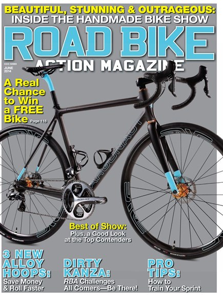 Road Bike Action Cover - 6/1/2014