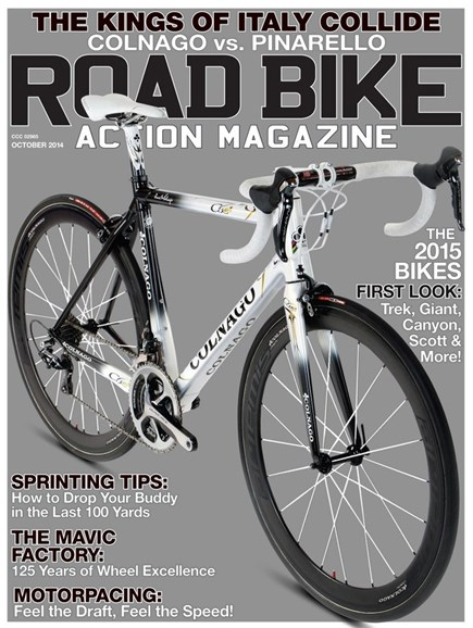 Road Bike Action Cover - 10/1/2014