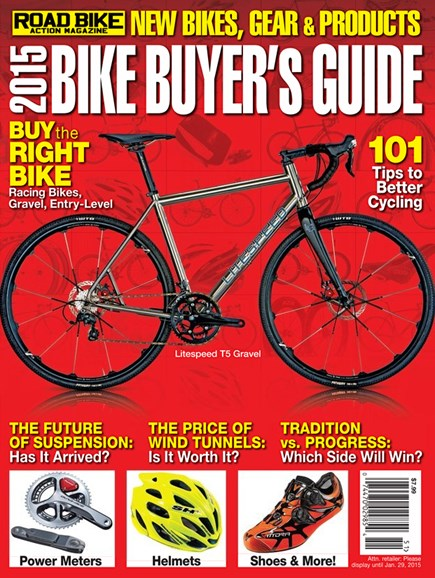 Road Bike Action Cover - 2/1/2015