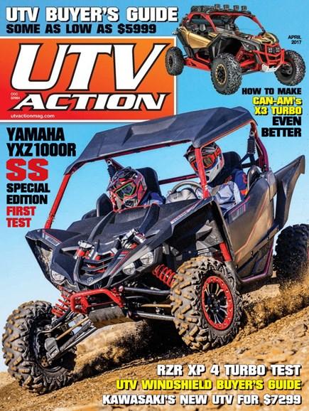 UTV Action Cover - 4/1/2017