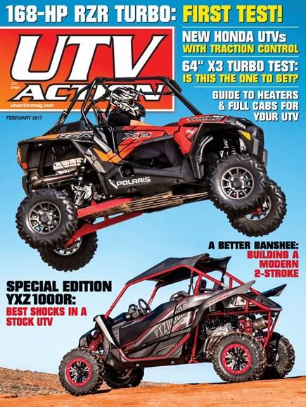 UTV Action Cover - 2/1/2017
