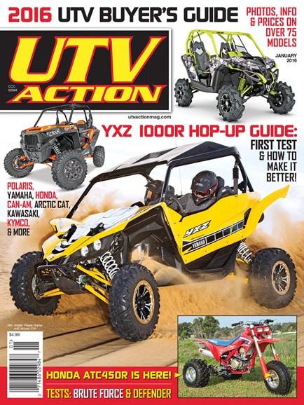 UTV Action Cover - 1/1/2016