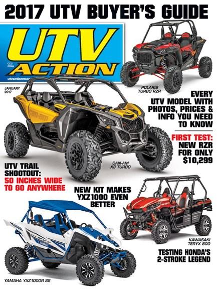 UTV Action Cover - 1/1/2017