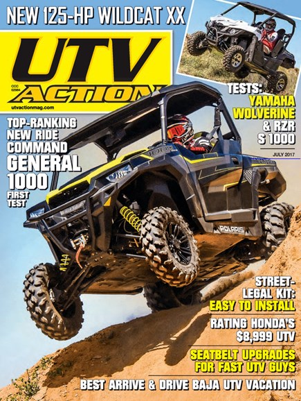 UTV Action Cover - 7/1/2017