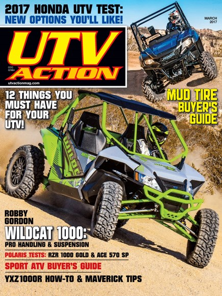 UTV Action Cover - 3/1/2017