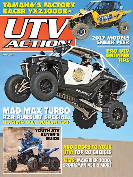 UTV Action Cover - 4/1/2016