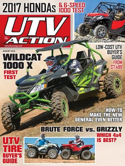 UTV Action Cover - 8/1/2016