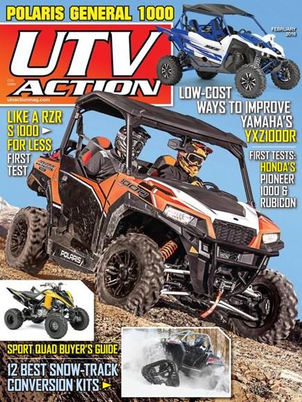 UTV Action Cover - 2/1/2016