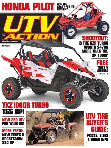UTV Action Cover - 5/1/2016