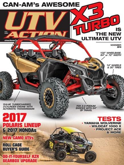 UTV Action Cover - 11/1/2016