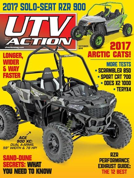 UTV Action Cover - 10/1/2016