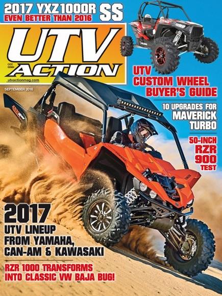 UTV Action Cover - 9/1/2016