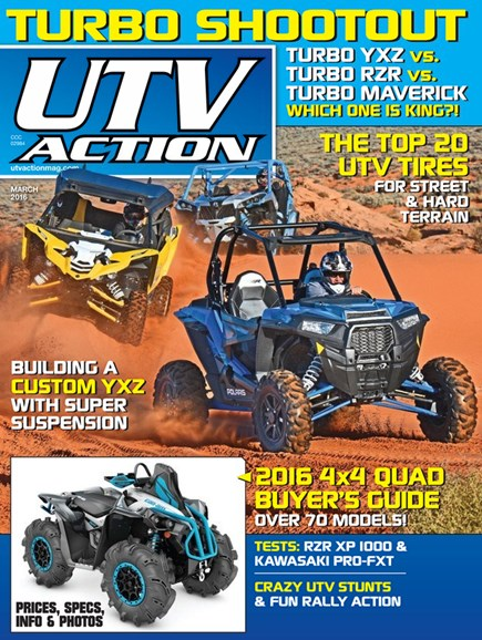 UTV Action Cover - 3/1/2016
