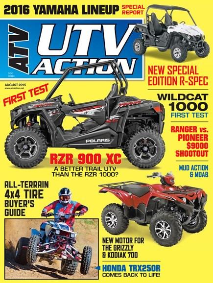 UTV Action Cover - 8/1/2015