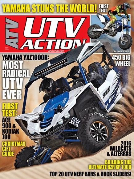 UTV Action Cover - 12/1/2015