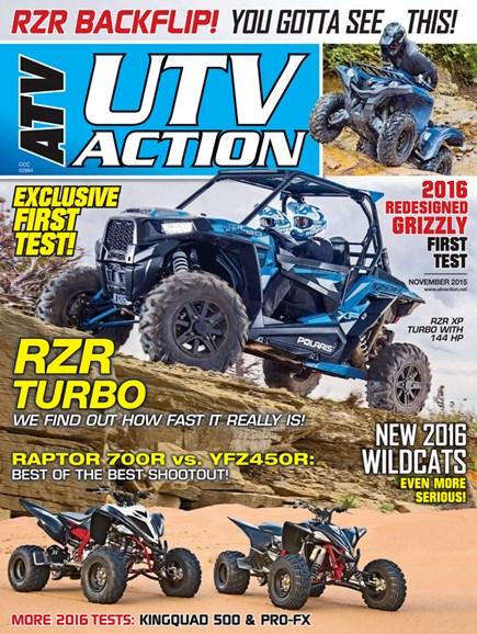 UTV Action Cover - 11/1/2015