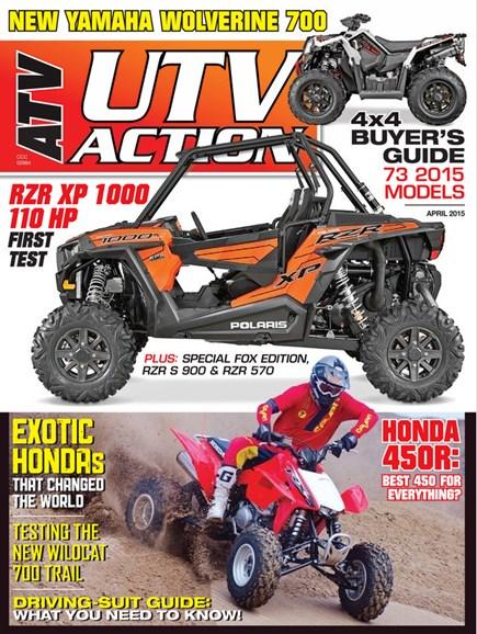 UTV Action Cover - 4/1/2015