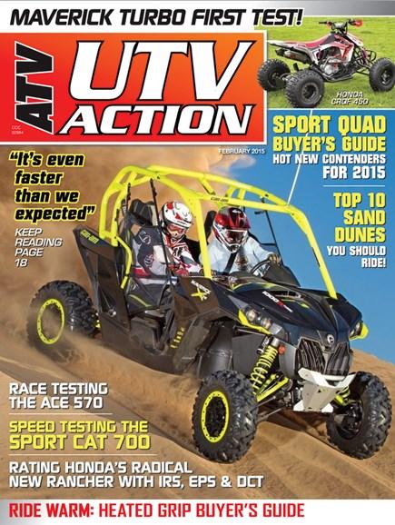 UTV Action Cover - 1/1/2015