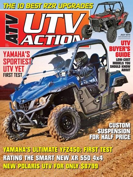 UTV Action Cover - 7/1/2015