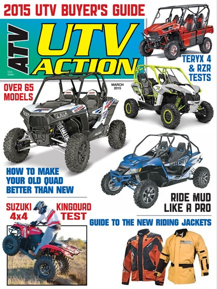 UTV Action Cover - 3/1/2015