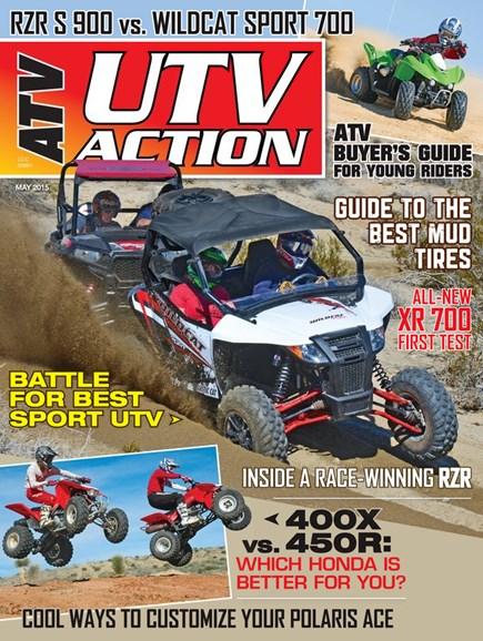 UTV Action Cover - 5/1/2015