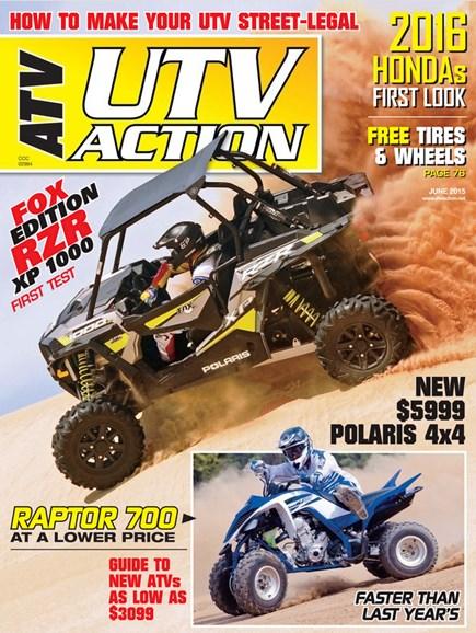 UTV Action Cover - 6/1/2015