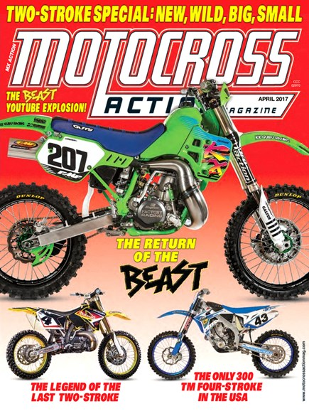 Motocross Action Cover - 4/1/2017