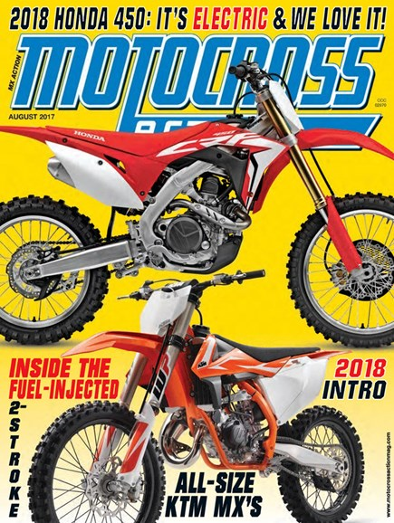 Motocross Action Cover - 8/1/2017